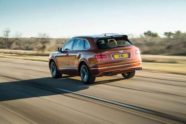 Самый быстрый внедорожник Bentley Bentayga Speed
