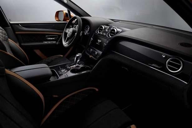 Фото салона Bentley Bentayga Speed