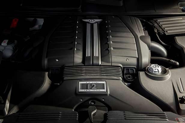 Двигатель V12 Bentley Bentayga Speed