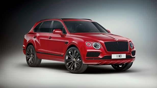 Дизайнерский Bentley Bentayga V8 Design