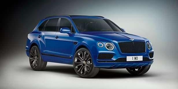 Bentley Bentayga V8 Design