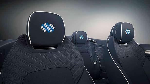 Подголовники Bentley Continental GT Convertible Bavaria Edition