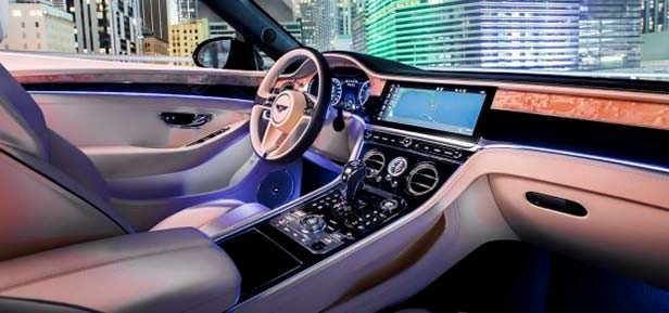 Фото салона Bentley Continental GT V8