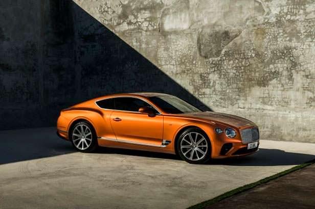 Купе Bentley Continental GT V8