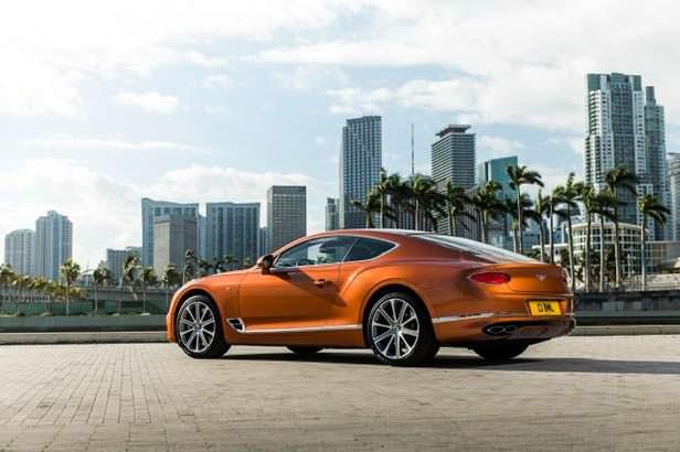 Новый Bentley Continental GT V8