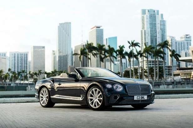 Кабриолет Bentley Continental GT V8 Convertible