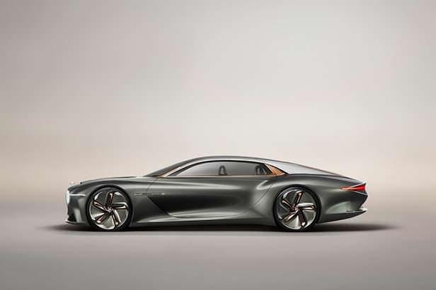 Электромобиль Bentley EXP 100 GT
