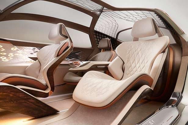 Фото внутри Bentley EXP 100 GT
