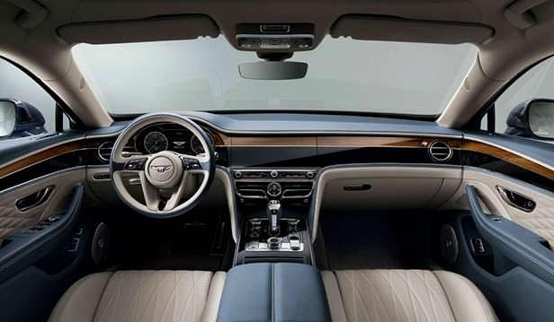 Фото внутри Bentley Flying Spur 2020
