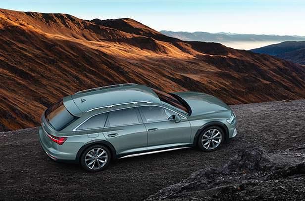 Новая Audi A6 allroad