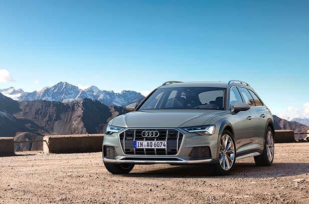 Вседорожный универсал Audi A6 allroad 2020 года