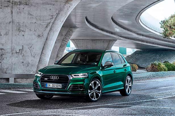 Новый гибрид Audi SQ5