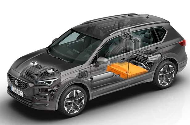 Гибридная модель SEAT Tarraco FR PHEV
