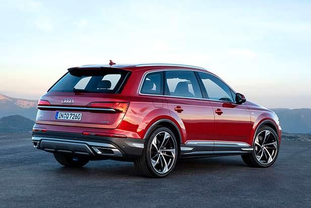 Рестайлинг Audi Q7 2020 года