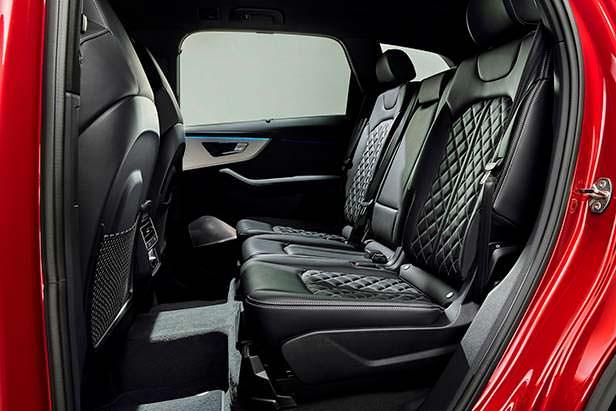 Задний диван Audi Q7 рестайлинг