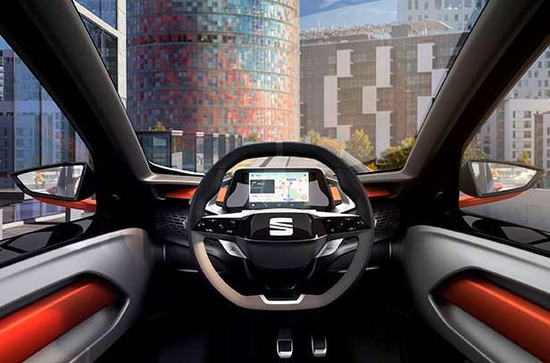 Фото внутри SEAT Minimó