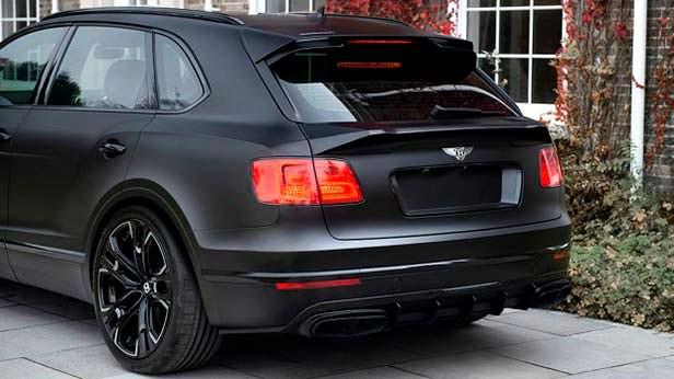 Bentley Bentayga Дарта Вейдера от Kahn Design