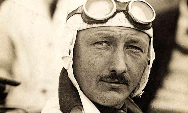 Английский гонщик Генри Биркин, победитель «Ле-Мана»