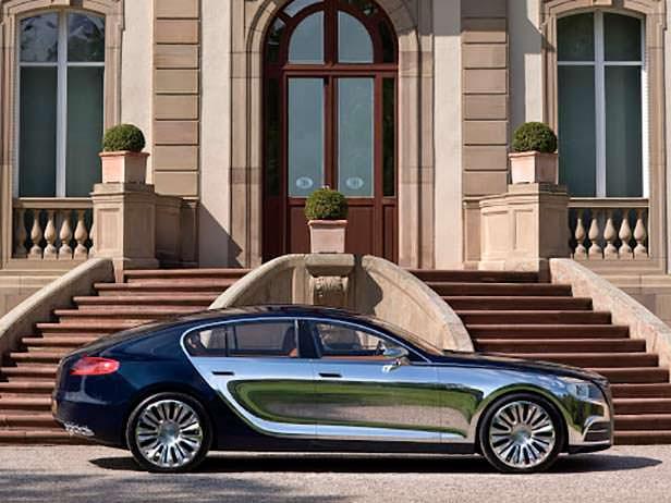 Bugatti 16C Galibier Concept 2009 год