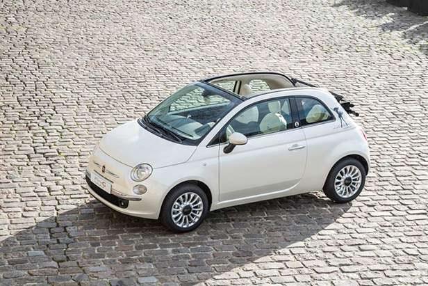 Фото   Fiat 500C. 2014 год