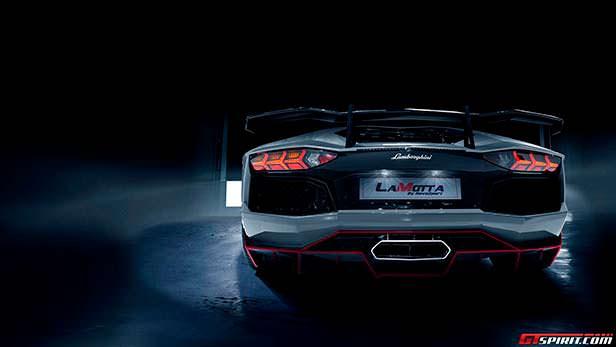 Тюнинг Lamborghini Aventador LaMotta от RevoZport