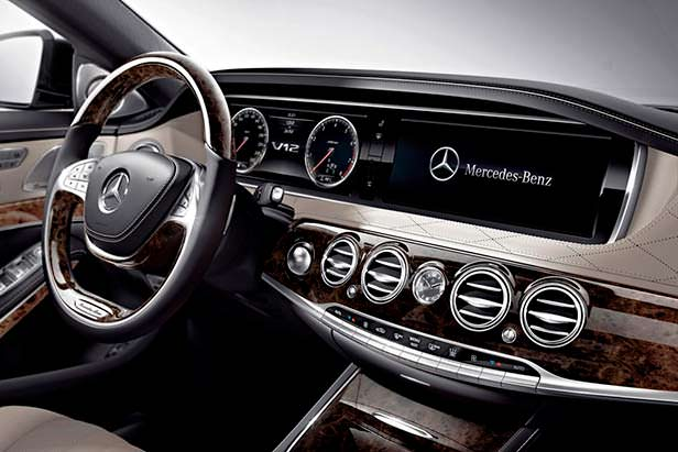 Салон Mercedes-Benz S600
