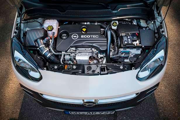 Двигатель EcoTec под капотом Opel Adam Rocks