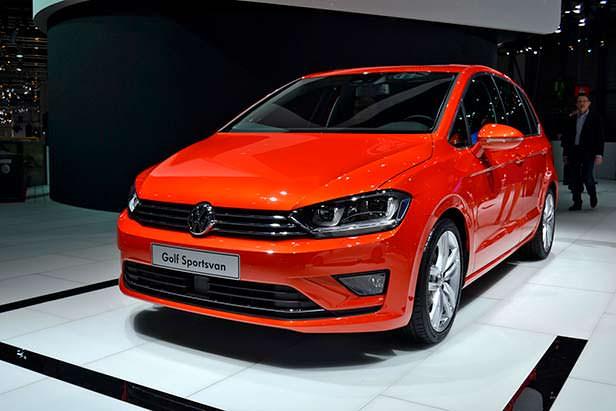Новый Volkswagen Golf Sportsvan