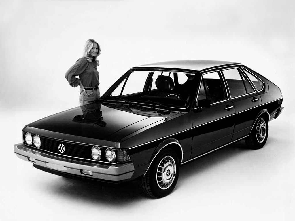 Новый Volkswagen Dasher 1977. Цена в США $5 749 (с учётом инфляции $23 037,65)
