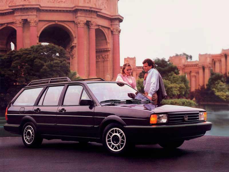 Новый Volkswagen Quantum 1986. Цена в США $13 595 (с учётом инфляции $30 122,23)