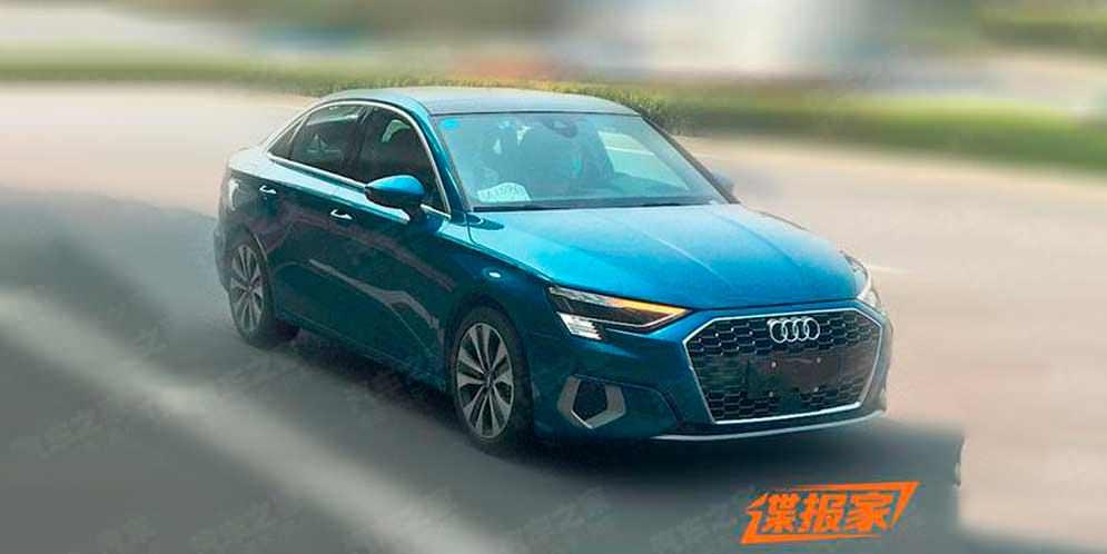 Для Китая готовят Audi A3L с длинной колесной базой | фото