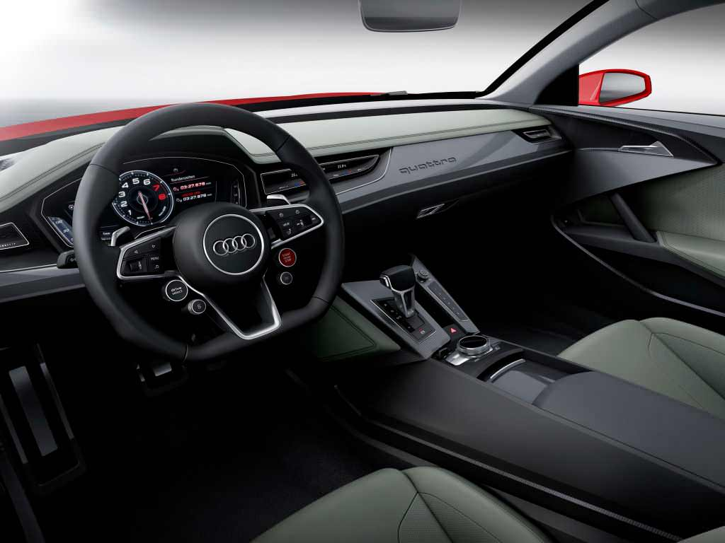 Фото салона Audi Sport quattro laserlight