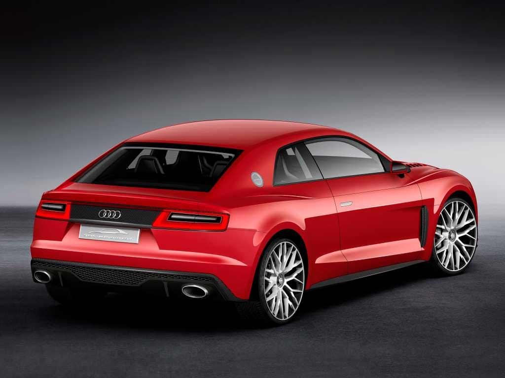 Прототип Audi Sport quattro laserlight с лазерными фарами