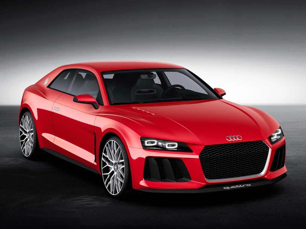 Концепт Audi Sport quattro laserlight с лазерными фарами