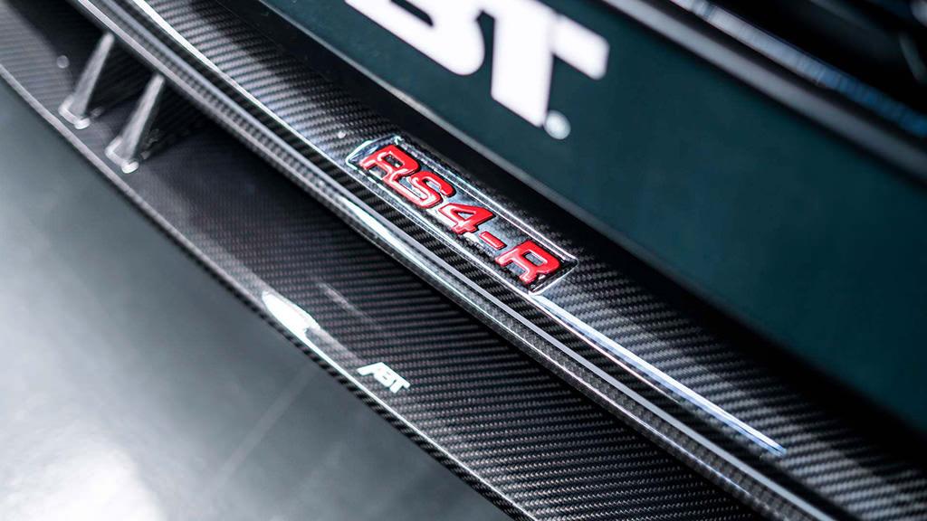 Карбоновые дверные пороги Audi RS4-R от ABT Sportsline