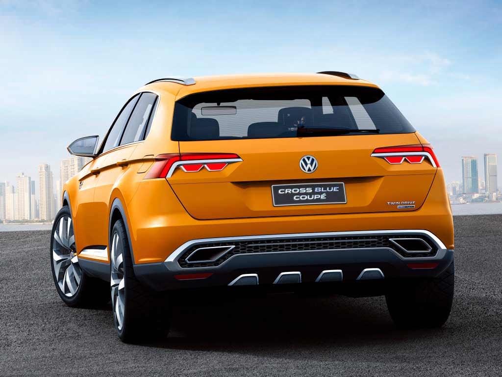 Volkswagen CrossBlue Coupé Concept 2013 года