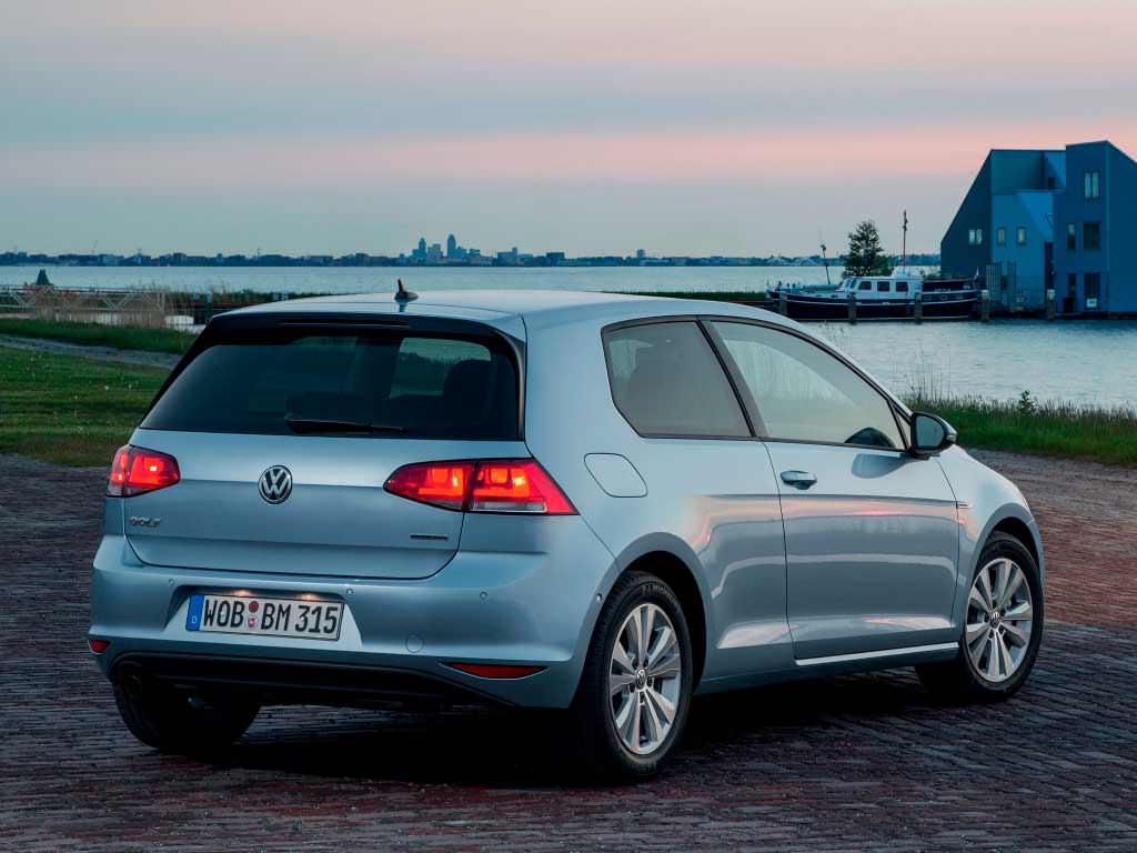 Volkswagen Golf TDI BlueMotion — самый экономичный хэтчбек компании