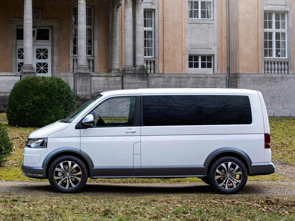 Прототип Volkswagen Multivan Alltrack