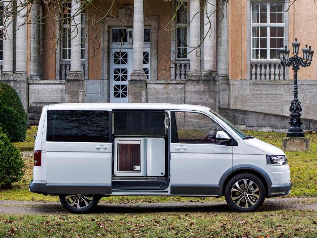 Концепт Volkswagen Multivan Alltrack