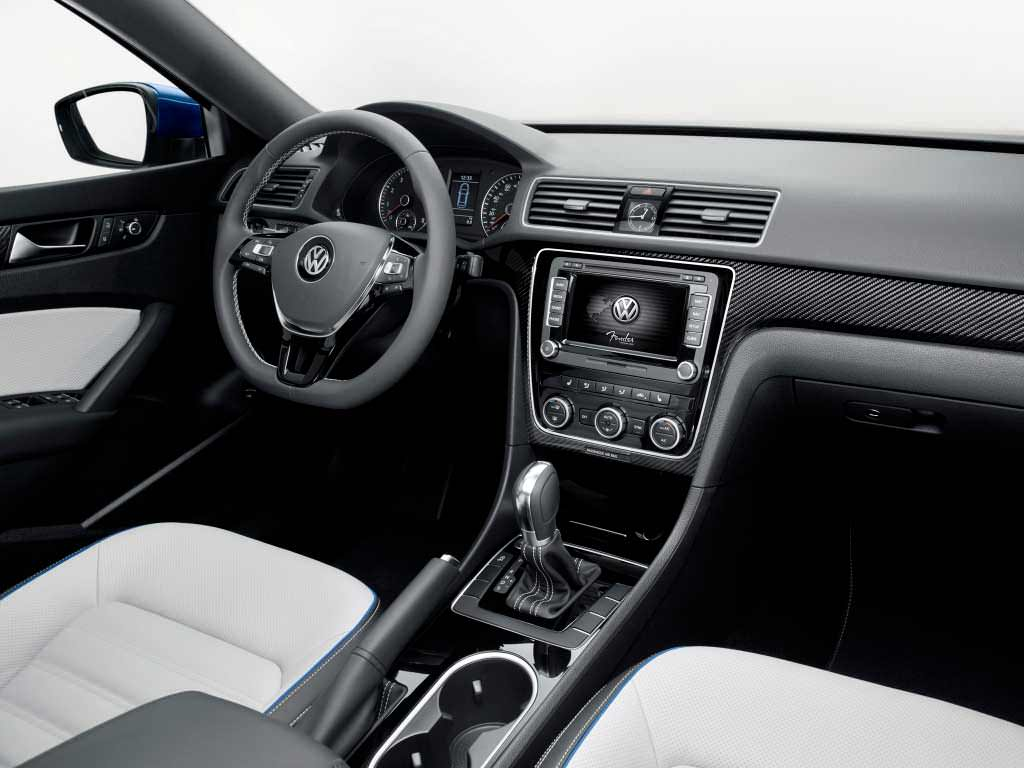 Салон Volkswagen Passat BlueMotion