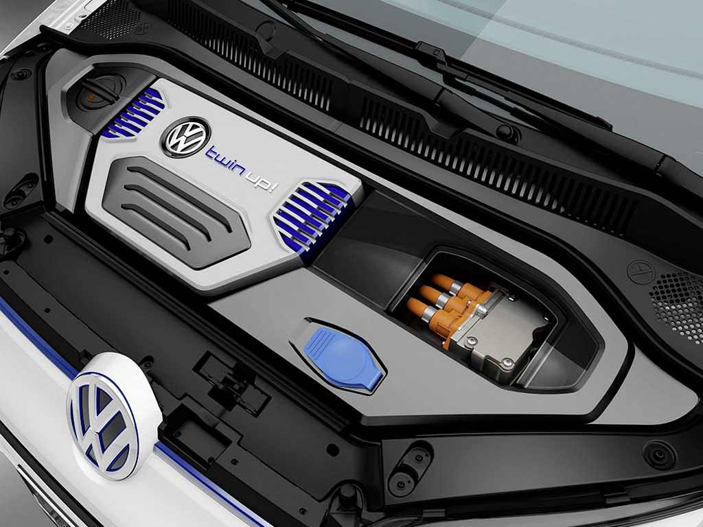 Дизель-электрический мотор под капотом Volkswagen Twin-Up!