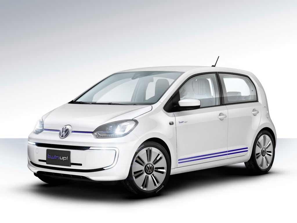 Дизель-электрический гибрид Volkswagen Twin-Up!