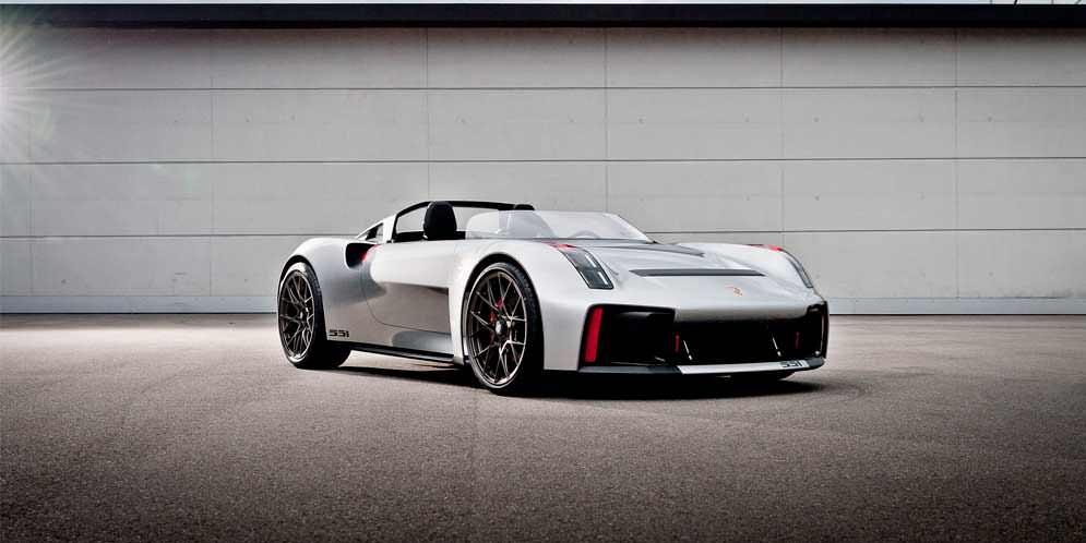 Показан Porsche Vision Spyder, вдохновлённый ретро-родстером