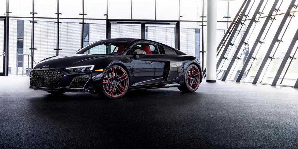 Спецверсия Audi R8 Panther Edition 2021 года официально | фото