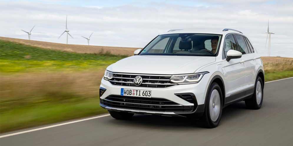 Новый VW Tiguan eHybrid стартует в европейской продаже, цены