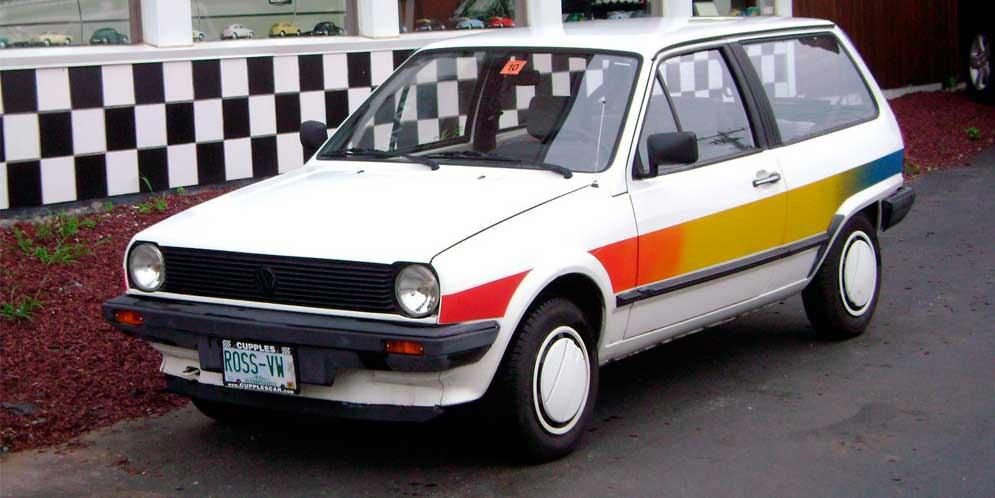 Volkswagen Oko-Polo: супер-экономичный универсал из 80-х