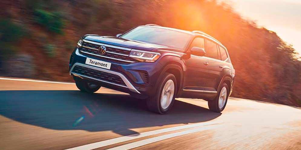 Большой Volkswagen Teramont обновился на 2021 год | фото