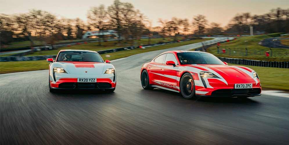 Два Porsche Taycan установили 13 рекордов на выносливость