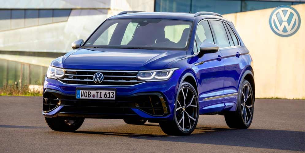 Самый мощный Volkswagen Tiguan R поступил в продажу | цены