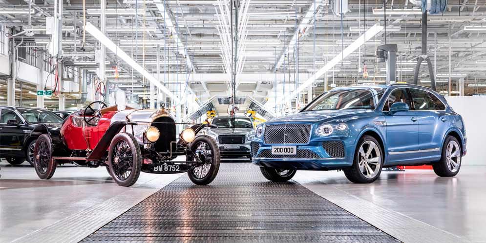 Bentley продала 200 000 автомобилей за 102 года существования